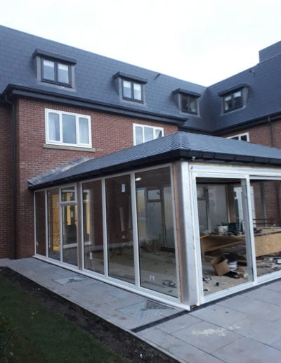 conservatory build