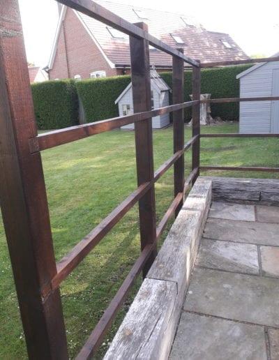 built fence